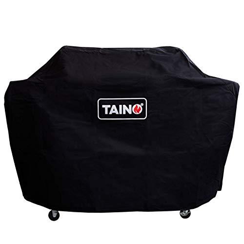 TAINO Abdeckhaube 3 Brenner Platinum Black 3+1 Abdeckung Wetterschutz Schutz-Plane