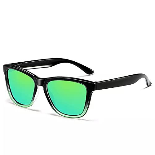 BAJIE Gafas de Sol Gafas de Sol de Gran tamaño Gafas de Sol polarizadas para Hombre y Mujer Lentes polarizadas de diseñador Gafas con Lentes recubiertas