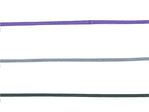 X17 Zubehör Doppelbuchbänder anthrazit, lila, silber 3er Pack