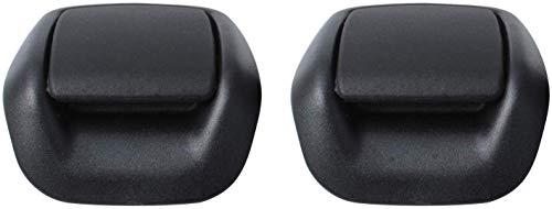 Manijas de Inclinación del Asiento Delantero Derecho e Izquierdo Compatible con Fiesta MK6 2002-2008 1417520 1417521 por Poweka (1 Par)