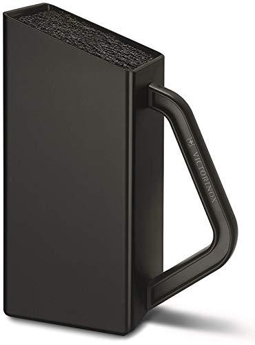 Victorinox Swiss Classic Universeel messenblok, groot, leeg, ongevuld, kunststof, nylon inzetstuk, zwart