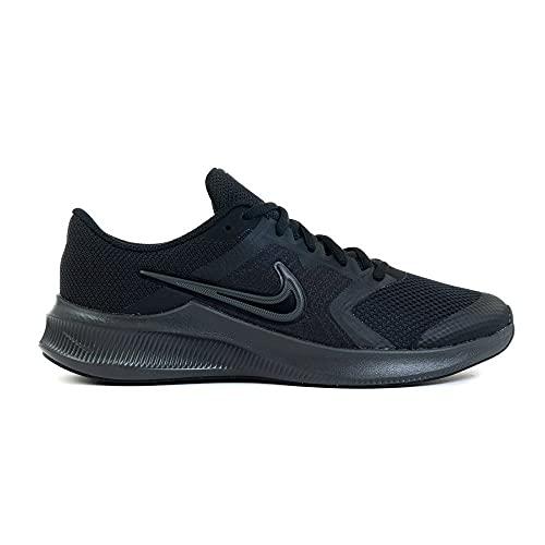Nike Downshifter 11, Zapatillas Deportivas Unisex niños, Black Dk Smoke Grey, 19.5 EU