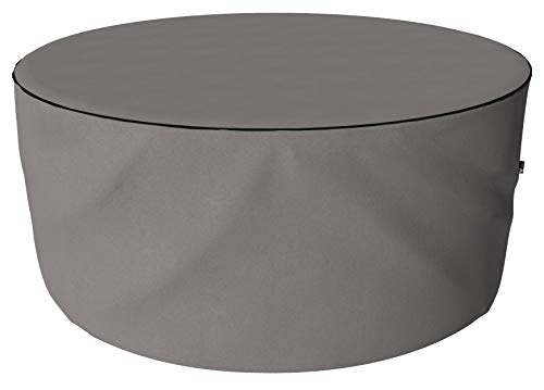 SORARA Protective Cover for Round Table Set | Grey | Ø 200 x 90 cm | water repellent