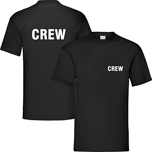 T-Shirt Security | Crew | Ordner | WUNSCHTEXT | Poloshirt | Hoodie | Jacke | Warnweste (S, Crew - T-Shirt)