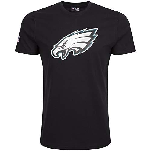 New Era Fan Shop, T-Shirt Nessun Genere, Nero (Blk), M