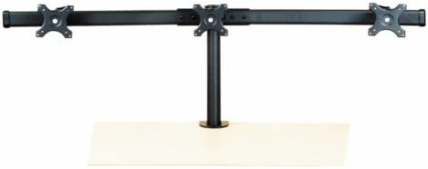 Triple Monitor Stand Curved Arm