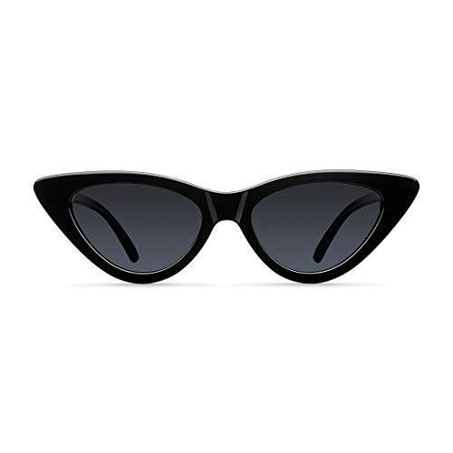 Meller Waga All Black - UV400 Polarisiert Unisex Sonnenbrillen