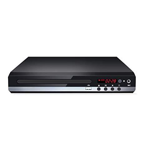 ZIXIXI Reproductor de CD DVD externo portátil y grabadora de DVD y CD Plug & Play, silencioso, delgado, para TV Home 1080P, reproductor de DVD para varias regiones con mando a distancia