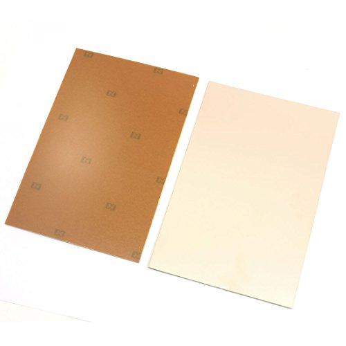 Aexit 2Pcs Kupfer-plattierte Abdeckung einseitig PCB-Leiterplatte 7,1' 'x 4,7' ' (1fa188c4931443fa6442995fff13d617)