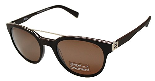 rebel 8229 Herren Kunststoff Sonnenbrille polarisiert