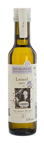 Bio Planète Leinöl nativ heimische Ernte, 1er Pack (1 x 250 ml)