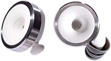 Knops Original White gehoorbescherming - de volumeknop voor je oren met 4 filter settings