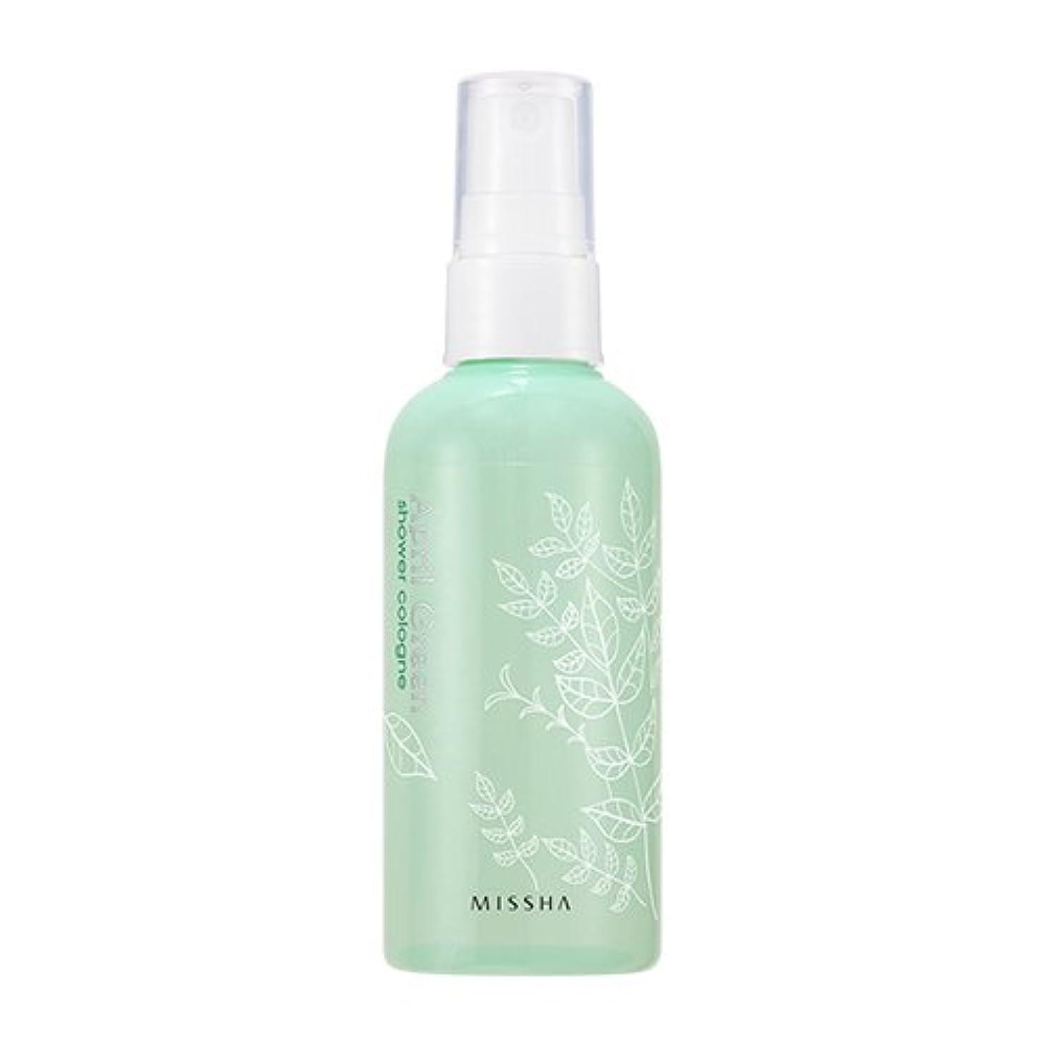 操縦する偽善安らぎMISSHA Perfumed Shower Cologne April Green 105ml / ミシャ パフュームドシャワーコロン エイプリルグリーン 105ml [並行輸入品]