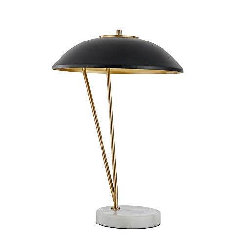 Lighfd Eenvoudig en modern Creative Art Light Luxury Living Room Tafel Lamp, marmeren voet, Study Bedroom Bedside Lamp, Light