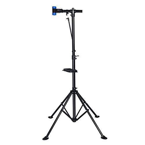 Ribelli Stabiler Fahrradmontageständer aus Eisen; fester Stand; drehbar; bequeme Arbeitshöhe; bis 30 kg