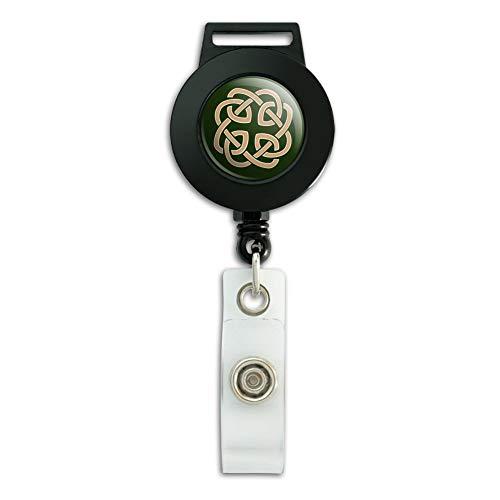 Celtic Knot Love Eternity Lanyard Retractable Reel Badge ID Card Holder