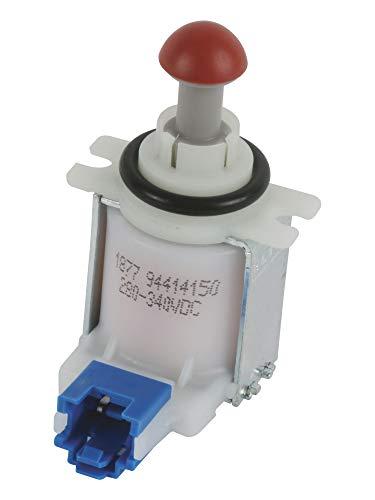 Electroválvula, válvula solenoide de desagüe para lavavajillas Bosch, Siemens, Balay y Neff