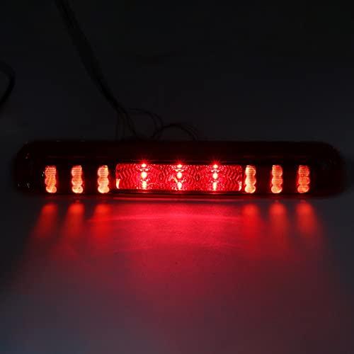 Fybida Reemplazo de Piezas de automóvil de la Tercera luz de Freno para Silverado 1500/2500/3500 99-06(Red)