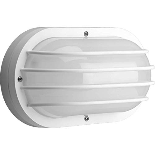Progress Lighting P7338-30EBWB Contemporary Modern Two Light Wall or Ceiling Mount from Bulkheads Collection in White Finish