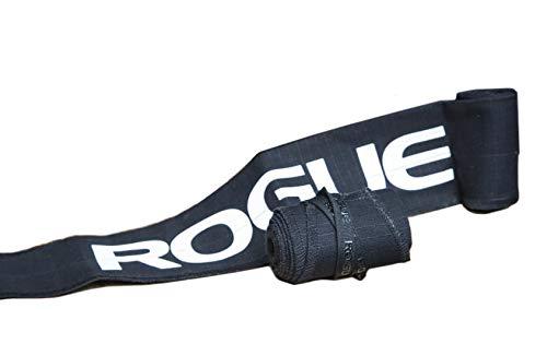 ROGUE FITNESS ローグ リストラップ 手首固定 ペア 長さ89cm×幅7.3cm (Black) [並行輸入品]