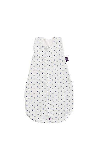 Träumeland Sommerschlafsack LIEBMICH aus Tencel, Design Anker, mit Naturfaser Tencel gegen Schwitzen, Größe 60