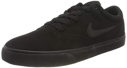 Nike Unisex SB Charge Suede Running Shoe, Black/Black-Black, 44.5 EU