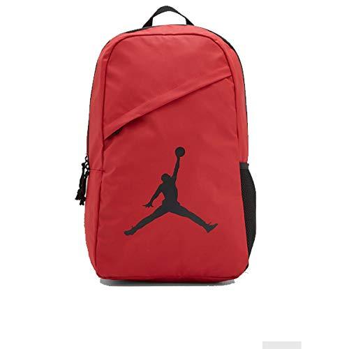 Nike ナイキ バックパック リュック エアージョーダン ジャンプマンAir Jordan Jumpman 赤 レッド Crossover Backpack BAG 9A1910 R78 (onesize) [並行輸入品]