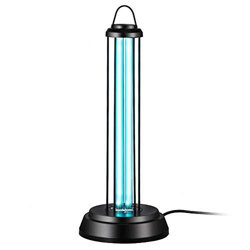 Ausla Desinfektion des UV-Lichts 38 W, Sterilisator Quarzlampe, Ultraviolettlampe mit Fernbedienung für Wohnzimmer, Küche, Bad (EU 220 V)