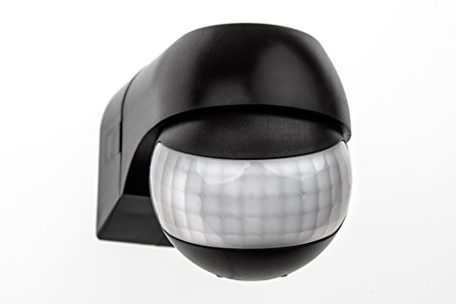 HUBER Motion 3 Slim, détecteur de Mouvement 180 °, réglable horizontalement et verticalement, économe en énergie