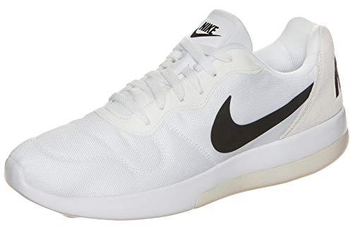 Nike MD Runner 2 LW, Scarpe Running Uomo, Bianco (White/Black-Light Bone), 40 EU