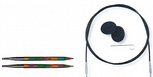 Nähkästchen-Gloor Vario-Nadelseil Lana Grossa für KnitPro Nadelspitzen Länge 120 cm