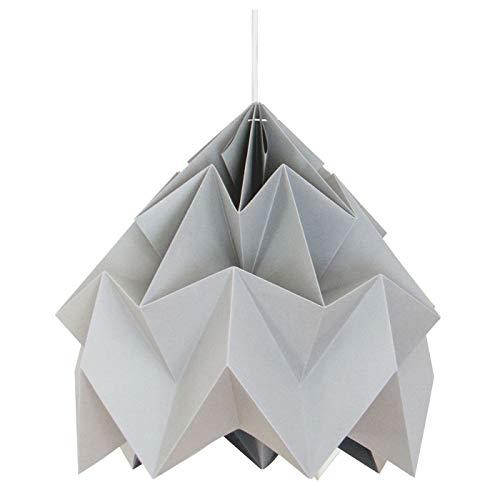Suspension Origami Moth Grise XL Diam 40 cm Snowpuppe
