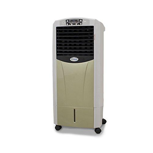 YATEK Climatizador evaporativo JC-310-H portatil de Aire Frio (95w), Calor (1800w) y 15L de Capacidad de Agua