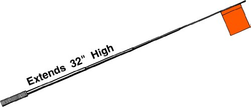HT FAA-1 Telescoping Flag Wire Tip-Up Extends To 30 Inches