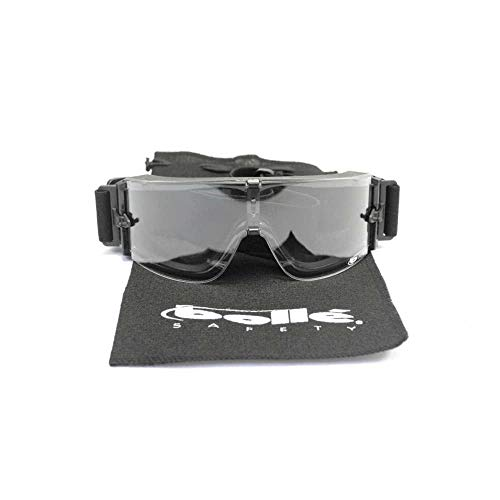 Bolle X800I Ultra-Ventilated Nylon Goggle, Black