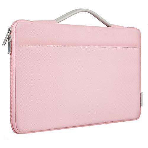 Inateck Hülle Tasche Laptop Sleeve Hülle Kompatibel 12,3 Zoll Surface Pro X/7/6/5/4/3, Rosa