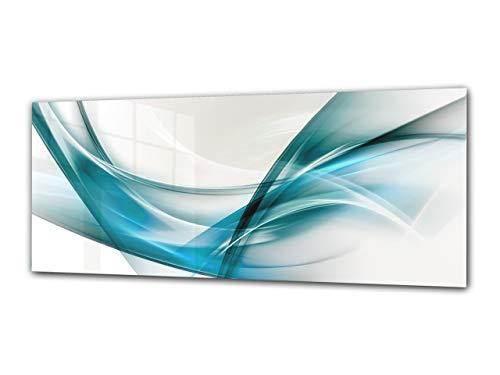 Cuadro decristal decorativo125 x 50 cm – Arte abstracto 4