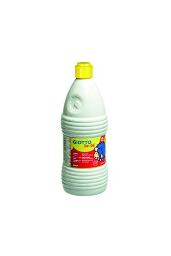 Giotto be-bè Témpera, color blanco, botella 1000 ml