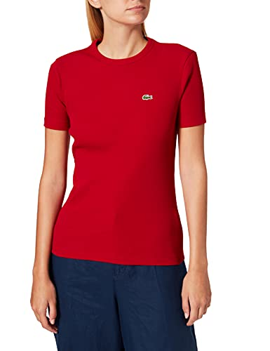 Lacoste TF5463 Tee-Shirt, Coccinelle, 42 Femme