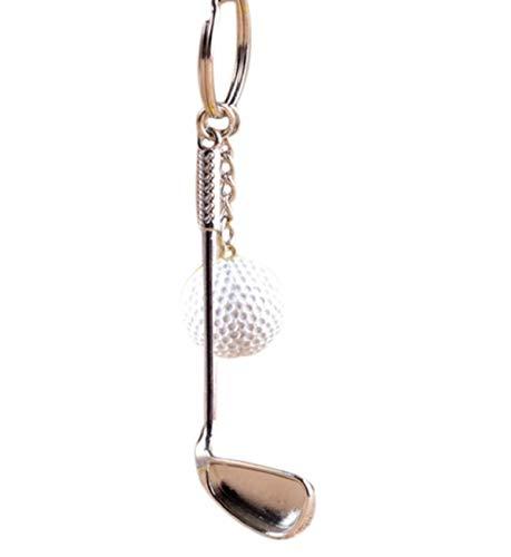 LL-Golf® Golf Schlüsselanhänger mit Golfschläger und Golfball/Golfgeschenk/Geschenk/Schlüssel Anhänger - 3