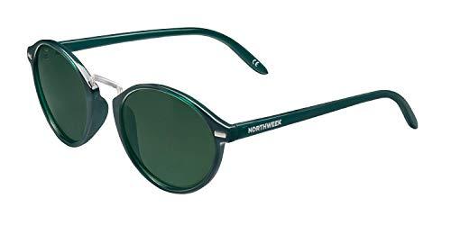 NORTHWEEK VESCA Kuta Gafas, Dark Green - Green, Adulto Unisex Adulto