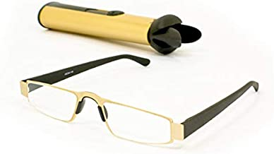 iMAGS: Executive Reading Glasses with Protective Hard Case (1.00, Gold)