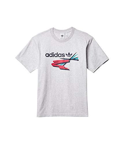 adidas Originals Camiseta de cepillo de pintura para hombre - verde - X-Small