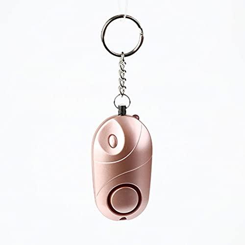 Jsdufs Alarma Personal 130 db Alarma de Bolsillo con Linterna Llavero Alarma de pánico Sirena de autodefensa Alarma Personal para Mujeres niños Ancianos