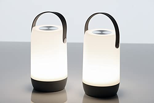 LED Outdoor Leuchte Laterne Sona Touch, Perfekte Gartentischlampe, Dimmbar, Balkonlampe, Sommerlampe, Gartenlaterne