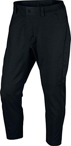 Nike Sportswear Bonded Men's Woven Pants (Black, 34)