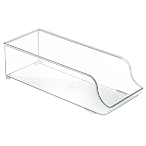 InterDesign Fridge/Freeze Binz Organizador de latas, caja de plástico