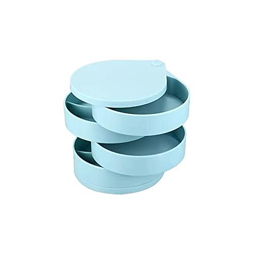 MUY Xin Miya Alto Sentido de clasificación múltiple Caja de joyería Pendientes Anillo Collar Caja de Almacenamiento de joyería Multifuncional para Mujeres Caja de Recuerdo