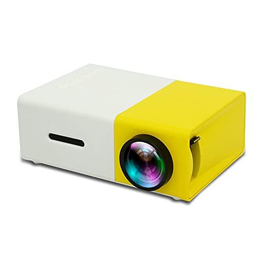 JoFXDQDML Mini proyector, proyector portátil, proyectores de Video LCD LED a Todo Color, para niños Present Video TV Movie Party Juego