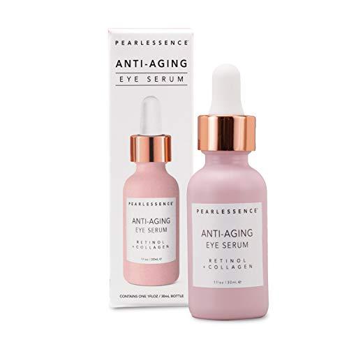 Pearlessence Anti-Aging Eye Serum (Retinol + Collagen), 1 oz